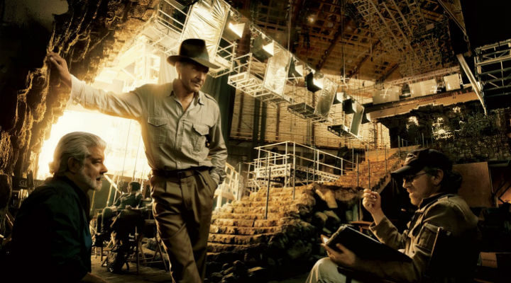 Trío 'Indiana Jones'