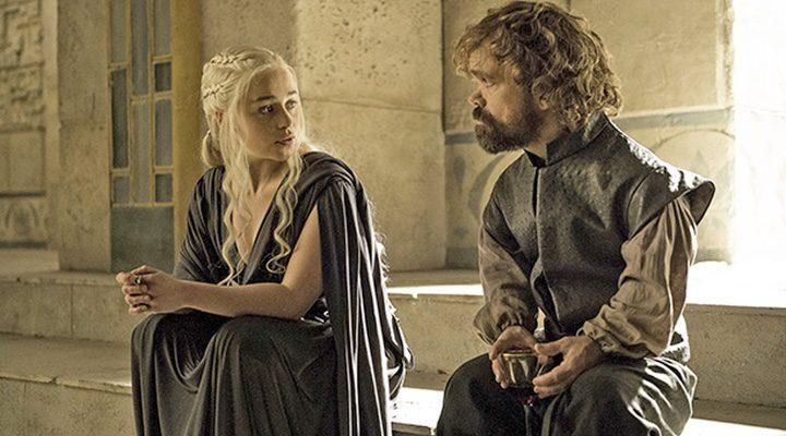 Imagen del final de la sexta temporada de 'Juego de Tronos'