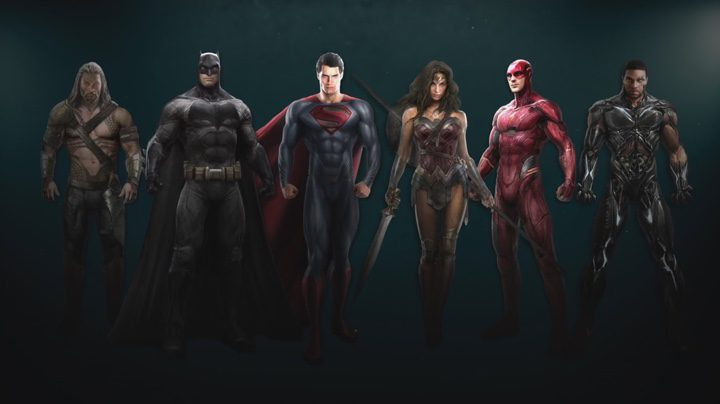 Concept art de 'La Liga de la Justicia. Parte 1'