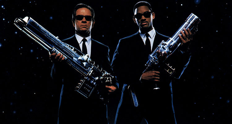 Tommy Lee Jones y Will Smith en 'Men In Black'