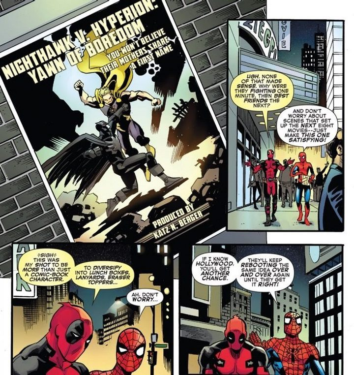 Cómic Deadpool y Spider-Man