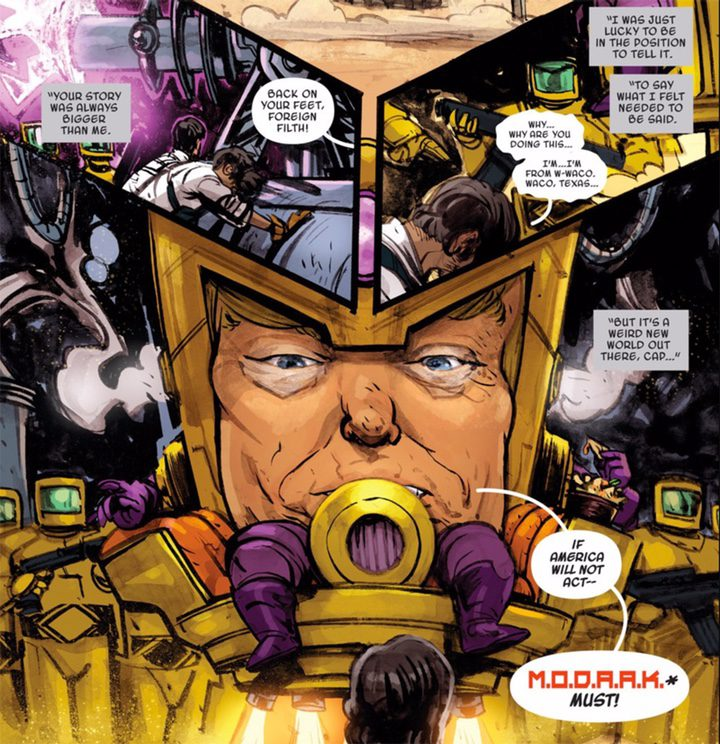 Cómic Donald Trump