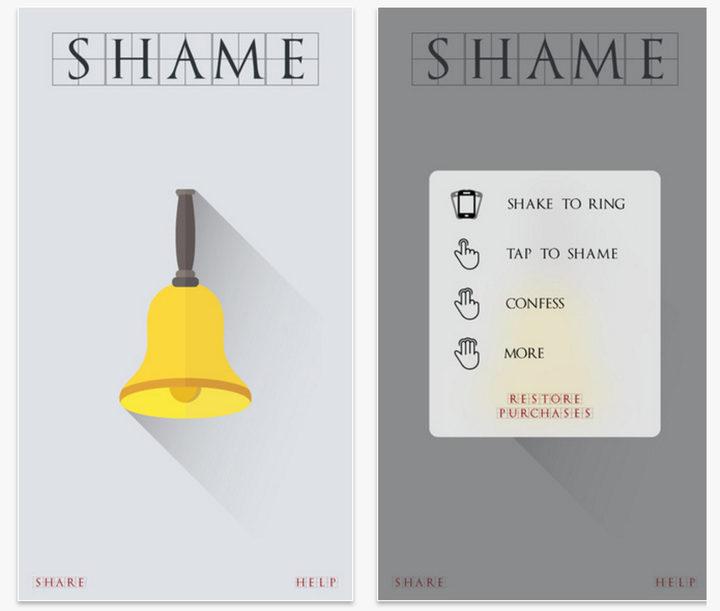 App Shame Bell Juego de Tronos