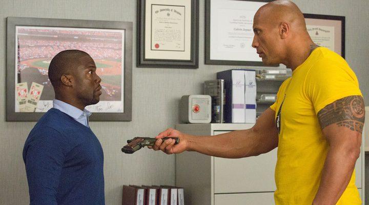 Dwayne Johnson y Kevin Hart en 'Un espía y medio'