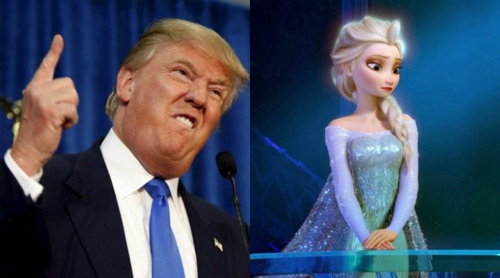 Donald Trump y Frozen