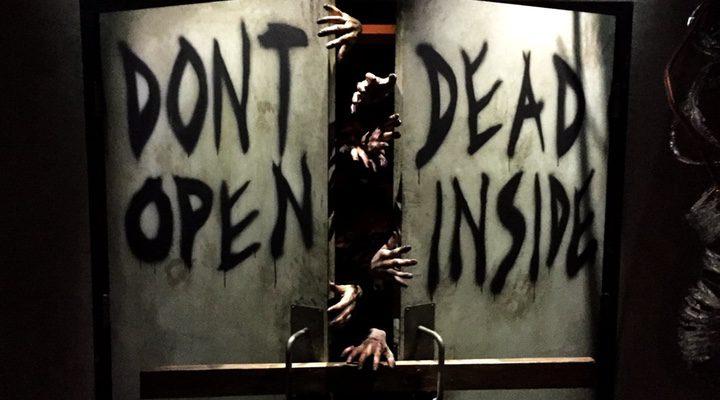 Entrada atracción 'The Walking Dead' en Universal Studios