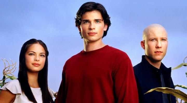 Lana, Clark y Lex