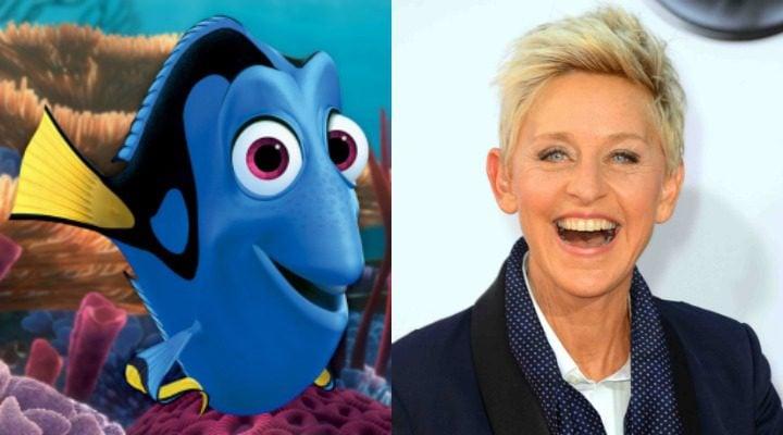 Dory y Ellen DeGeneres