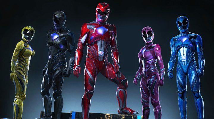 Así son los trajes de los nuevos Power Rangers