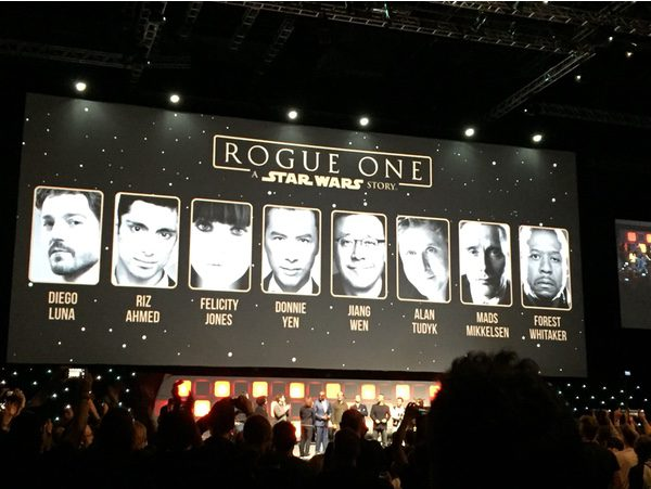 El reparto de 'Rogue One'