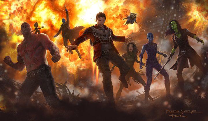 Primer concept art de los Guardianes