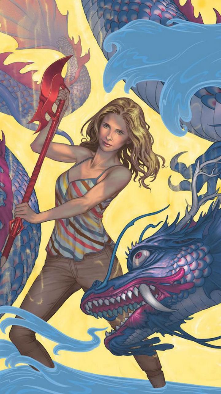 Portada del número 1 de la temporada 11 de 'Buffy, cazavampiros' en cómic