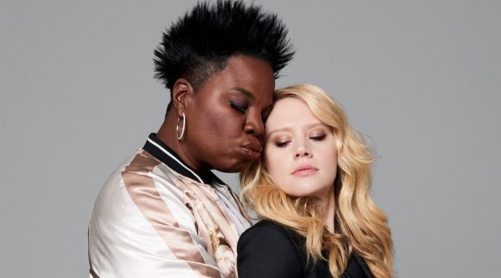 Kate McKinnon y Leslie Jones