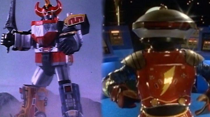 Megazord y Alpha 5