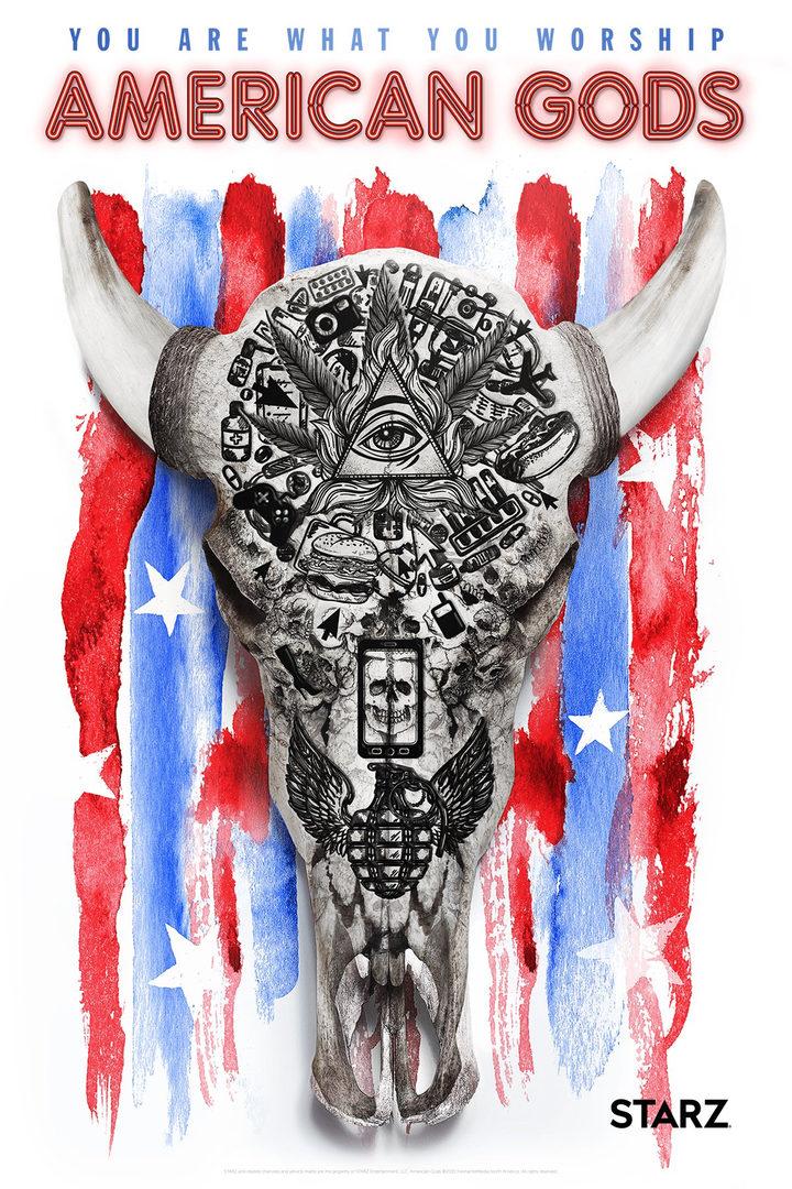 Póster 'American Gods'