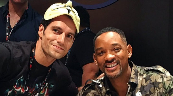 Henry Cavill y Will Smith