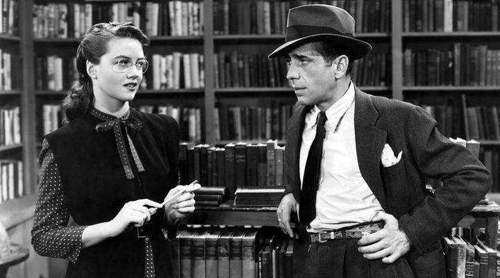 Humphrey Bogart en 'El sueño eterno'