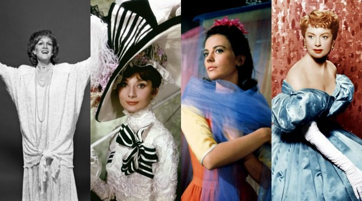 Marni Nixon, Audrey Hepburn, Natalie Wood, Deborah Kerr