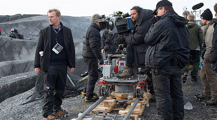 Christopher Nolan en el rodaje de 'Dunkirk'