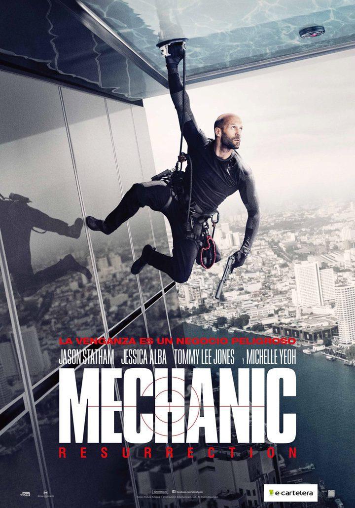 Póster España de 'Mechanic: Resurrection'