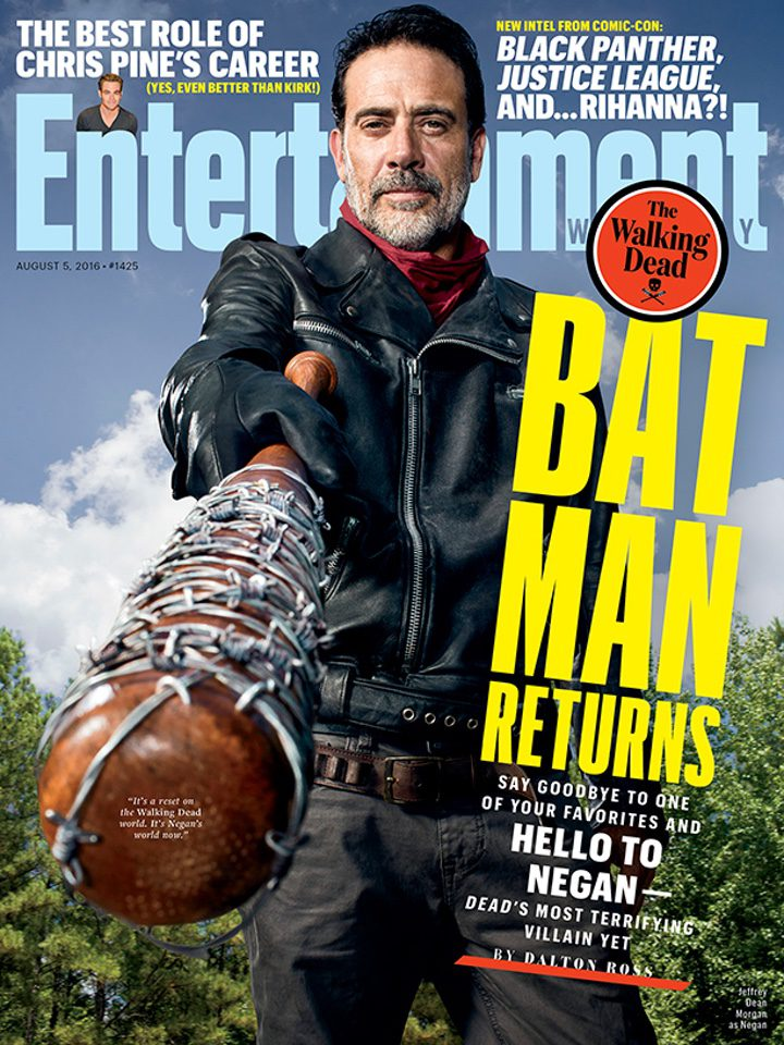 Portada de 'The Walking Dead' en Entertainment Weekly