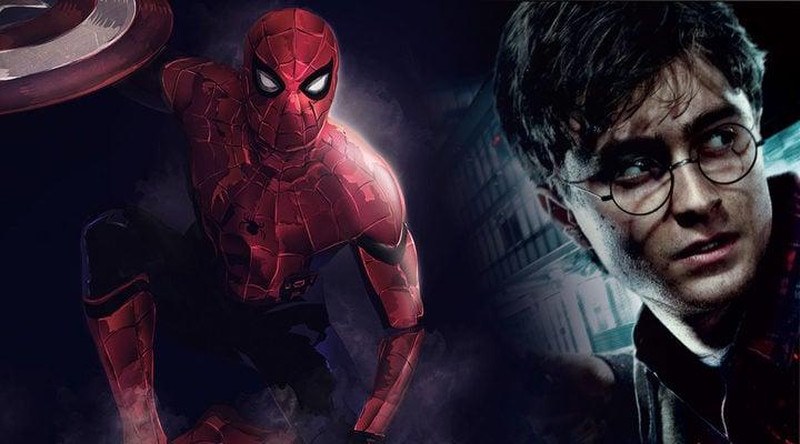 'Harry Potter' y 'Spider-man'
