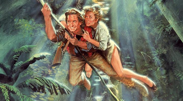 Michael Douglas y Kathleen Turner en 'Tras el corazón verde'