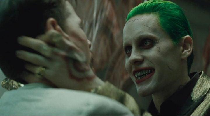 Jared Leto interpretando al Joker