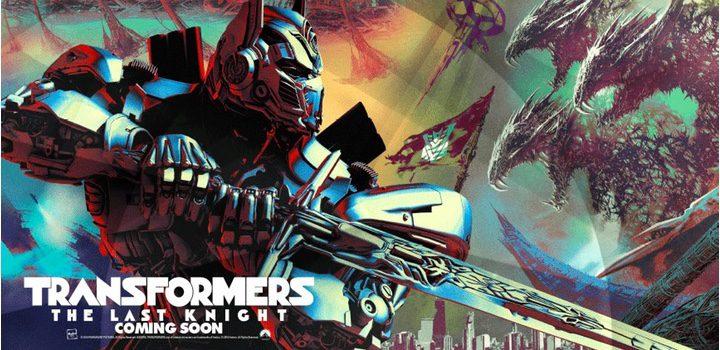 El poster de 'Transformers: The Last Knight'