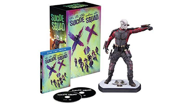 Blu-Ray edición especial Deadshot 'Escuadrón Suicida'