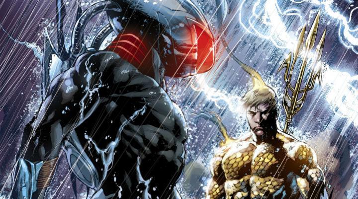 Manta Negra v Aquaman