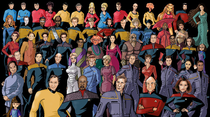 Todas las generaciones de 'Star Trek'