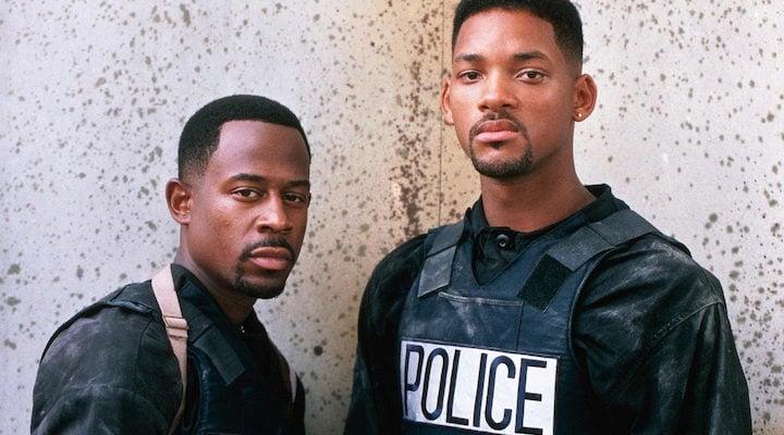 Will Smith y Martin Lawrence en 'Dos policías rebeldes'
