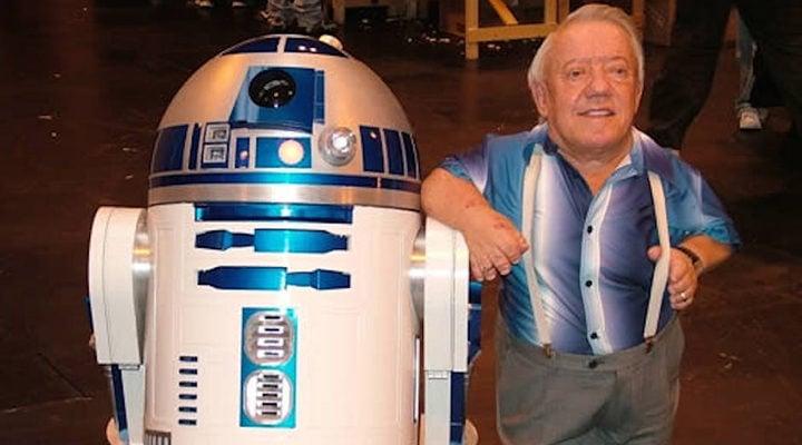 Kenny Baker y R2-D2