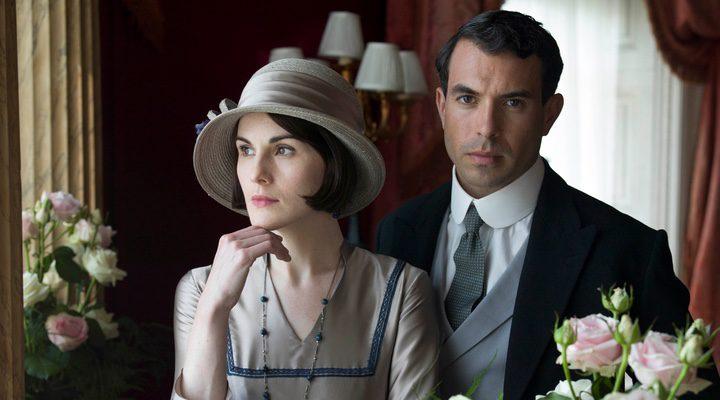Michelle Dockery con Dan Stevens en 'Downton Abbey'