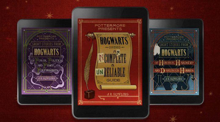 Portadas de los nuevos libros de 'Harry Potter'