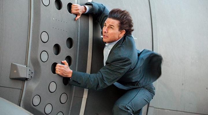 Tom Cruise en 'Misión Imposible - Nación secreta'