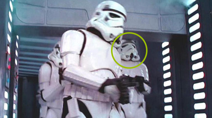 Clumsy stormtrooper