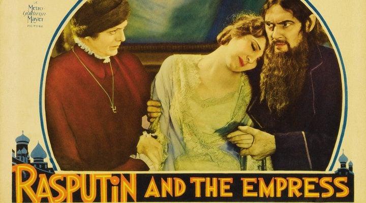 cartel de 'Rasputín y la zarina'