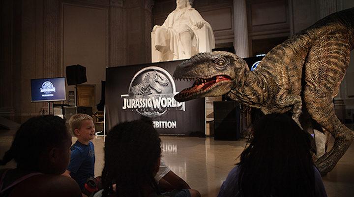 Dinosaurio animatrónico 2