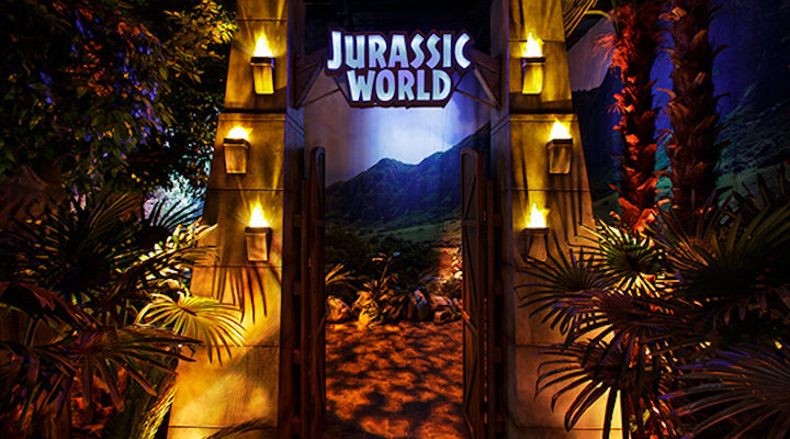 Parque temático 'Jurassic World