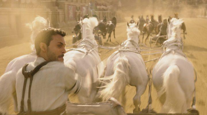 La carrera de cuadrigas de 'Ben-Hur'