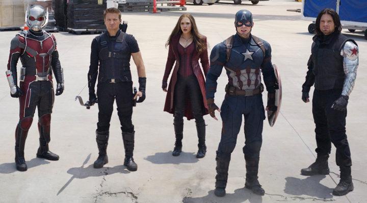 Bando Capitán América en Civil War