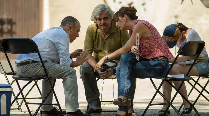 Malena Alterio, Javier Gutiérrez y Álvaro Fernández-Armero