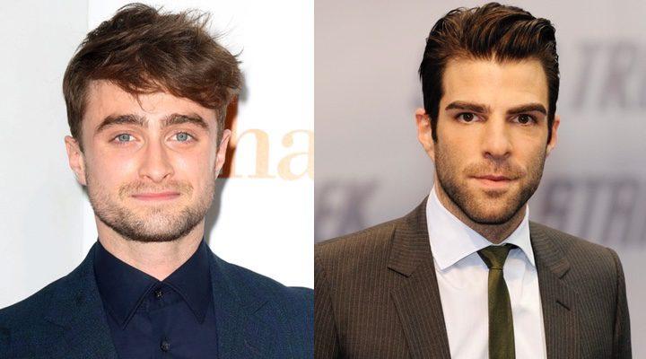 Daniel Radcliffe y Zachary Quinto