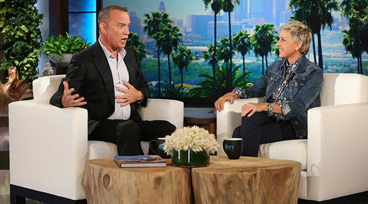 tom Hanks y Ellen DeGeneres