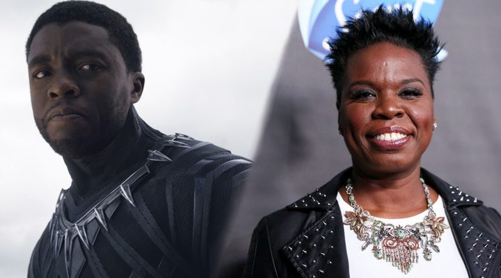 Black Panther y Leslie Jones