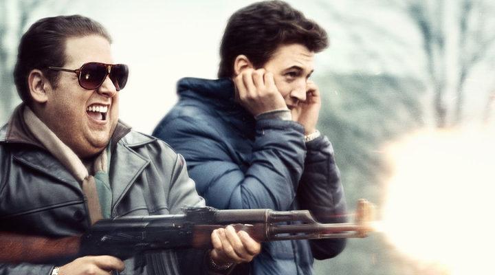 Jonah Hill y Miles Teller en 'Juego de armas'