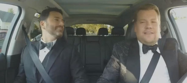 Jimmy Kimmel y James Corden