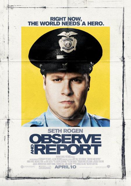Pósters de 'Observe and report'